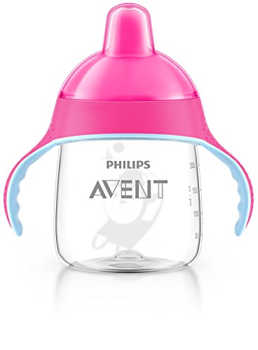 Philips Avent SCF753/07 Becher mit Trinkschnabel, 260 ml, rosa