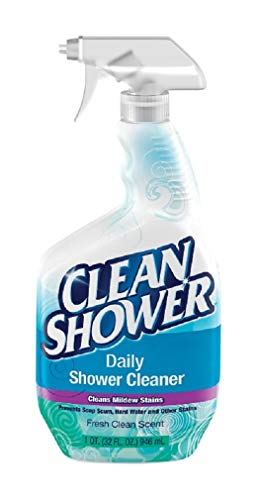 Clean+Shower+Daily+Shower+Cleaner+Trigger+Spray+32+Oz