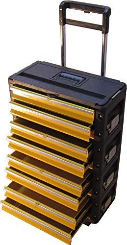 Metall Werkzeugtrolley XXL Type 305BBBB - jetzt neu mit Schubladenverriegelung und Schloss von AS-S