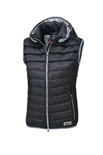 Pikeur Damen Steppweste Light Weight Darline Next Generation Frühjahr/Sommer 2017, Anthracite, 40