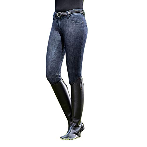 HKM PRO TEAM Miss Blink Easy Reithose Jeansblau 40