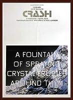 ポスター エドワード ルッシェ Fountain of Crystal 2009 額装品 ウッドベーシックフレーム(ブラウン)