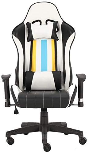 ZHEYANG Sillas Gamer Gaming Chair Butaca de Juego Ascensor reclinables y reposabrazos de diseño for el Juego de Trabajo