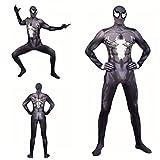 Los Aficionados Trajes De Los Niños del Hombre Araña Super Héroe Body Bodies Santos Cosplay Película Ropa Niños Potencia De Banda Estrecha Mono Set, Adult S (140~150cm)