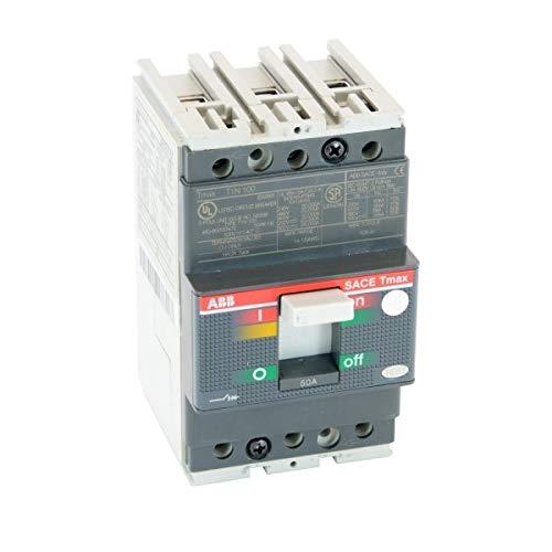 ABB T1N050TL Molded Case Circuit Breaker, 600Y/347 VAC, 500 VDC, 50 A, 3 Poles