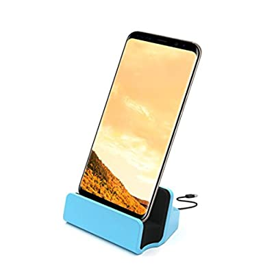 MNtech New USB Type-C Cradle Charger Dock Stand Fast Charging For Samsung Galaxy S8/S8 Plus And Other Android Phones
