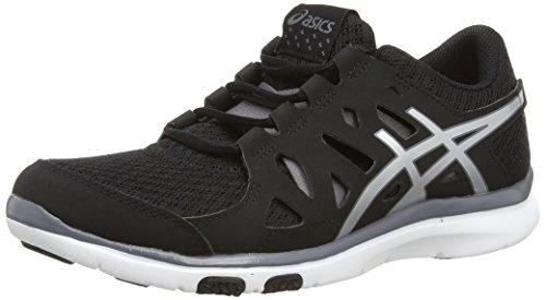 ASICS Gel-Fit Tempo, Damen Outdoor Fitnessschuhe, Schwarz (Black/Onyx/Silver 9099), 43.5 EU
