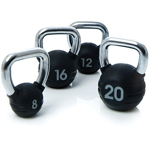 Escape Rubber Kettlebell (8 Kilograms)