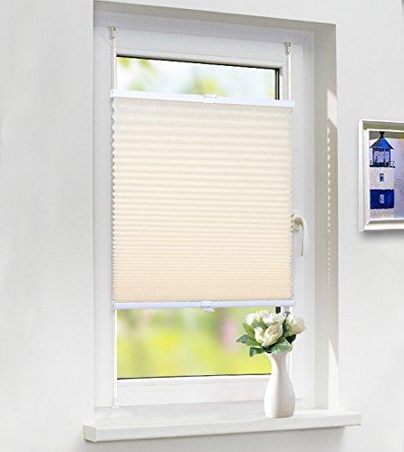Laneetal plisségordijn zonder boren geplooide stof schaduw voor raam met hulpstukken eenvoudig te bevestigen