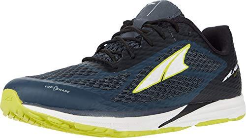ALTRA Men's AL0A4PE8 Viho Road Running Shoe, Dark Slate/Lime - 8 M US