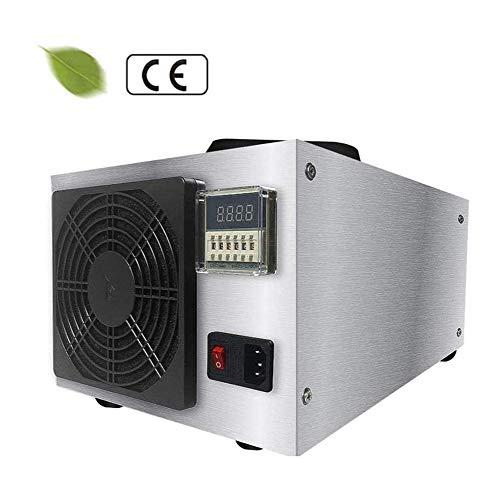 BOYZ Generatore di ozono Industriale Purificatore d Aria Portatile 50000mg/h con Timer Display LED ionizzatori d'Aria Deodorante e sterilizzatore per Ambiente applicabile 1600m³
