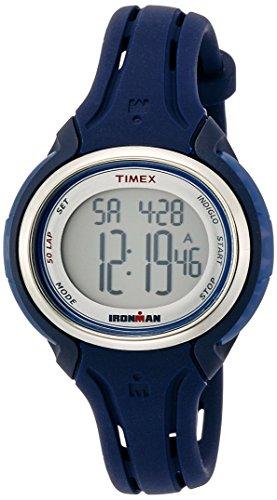 Timex Ironman Sleek 50-Lap Mid-Size Watch - Blue