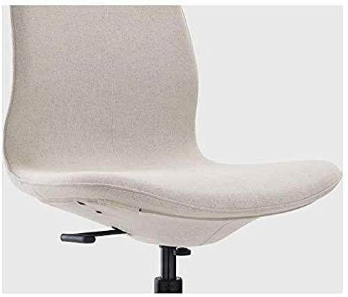 LHYLHY Silla de Conferencia Beige 67x67x92 cm Silla de Oficina Duradera y fácil de cuidar Silla de Oficina Muebles respetuosos con el Medio Ambiente