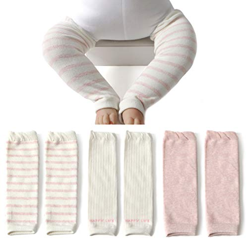 Elesa Miracle Baby Toddler Leg Warmer (3pc- Pink)