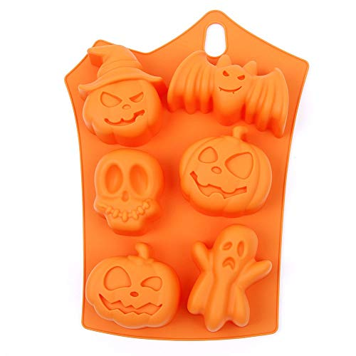 Halloween party stampo in silicone fondant cake Decorating...