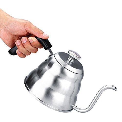 Pour Over Coffee Kettle - Hervidores de Té Con Cuello de Ci