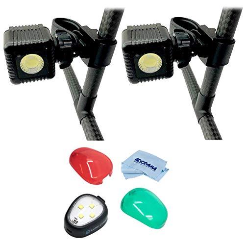 LUME CUBE Night Flyer Kit for DJI Matrice 200 Series, Lighting Kit for DJI Matrice 210 Drone (Also fits 100, 200, 600) - Bundle Strobe Anti Collision Light for Drones, Microfiber Cloth
