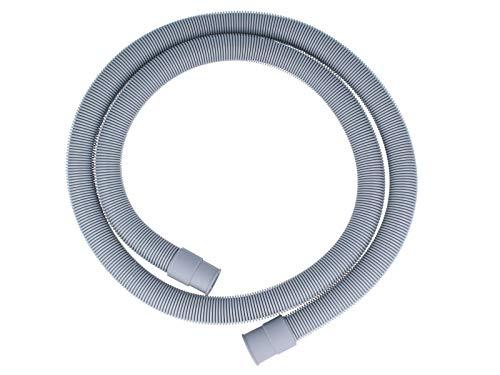 Waschmaschinen Spülmaschinen Spiral Ablaufschlauch 1,50 m mit Ablaufhalter