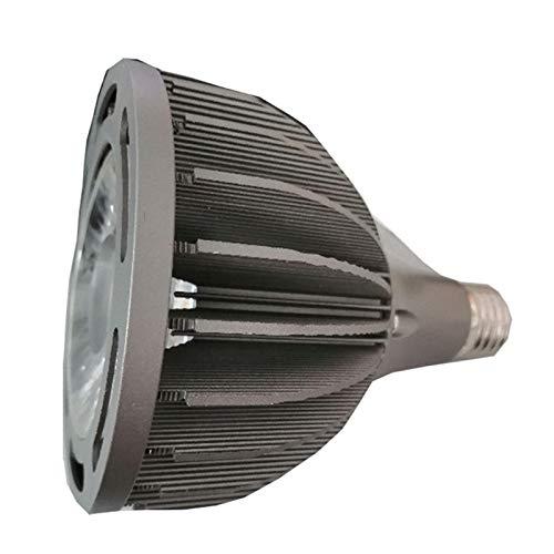 JCMY Bombillas GE Foco PAR38 40W Oscurecimiento COB Lámpara PAR De CE RoHS PAR38 Punto De Luz 40W Par38 iluminación LED (Size : Warm White)
