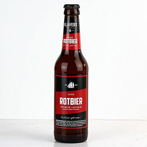Klüvers - Rotbier Craftbeer 4,7% Vol. - 0,33l inkl. Pfand