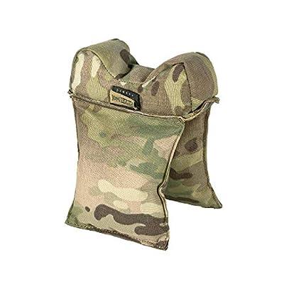 OneTigris Window Gun Rest Bag Filled Shooting Rifle Rest for Hunting Target (Multicam - 500D Cordura Nylon)