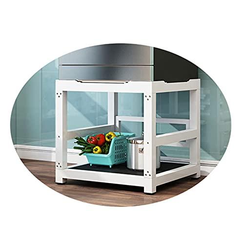 Soporte lavadora Base lavadora, Soporte para Lavadora/Secadora/Refrigerador Altura 57cm Base Pedestal y Marco para Neveras Antivibracion Estante para Cocinas Lavavajillas Vinotecas(Color:B)