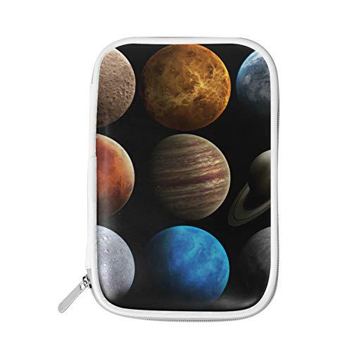 Pencil Cases/Pencil Bag/Pen Case Pouch mit großer Kapazität und mehreren Fächern für Jungen und Mädchen Planet Universe Solar System