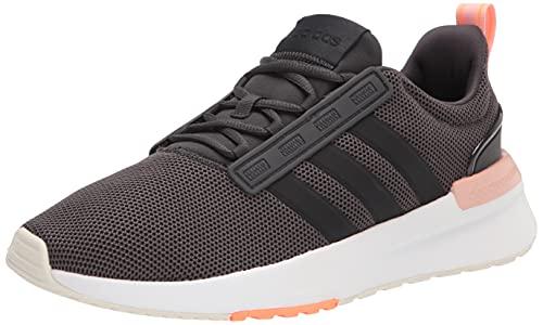 adidas Racer TR21, Zapatillas para Correr Mujer, Carbon Black Vapour Pink, 38 EU