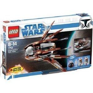LEGO Star Wars Set #7752 Clone Wars Count Dooku's Solar Sailer by
