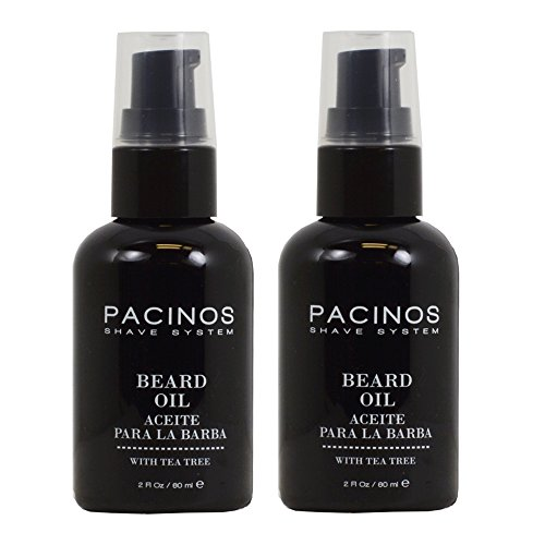 "Pacinos Shave System Beard Oil 2oz ""Pack of 2"""