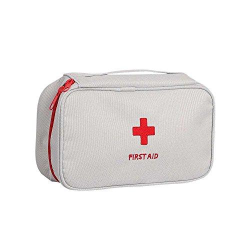 kleine Medizinische Tasche Aufbewahrungstasche Medikament Verpackung Erste Hilfe Leere Taschen Reiseapotheke Tasche Medikamententasche Mini-Tasche Reise Sanitätstasche Medizin-Pake 23X13X7.5cm