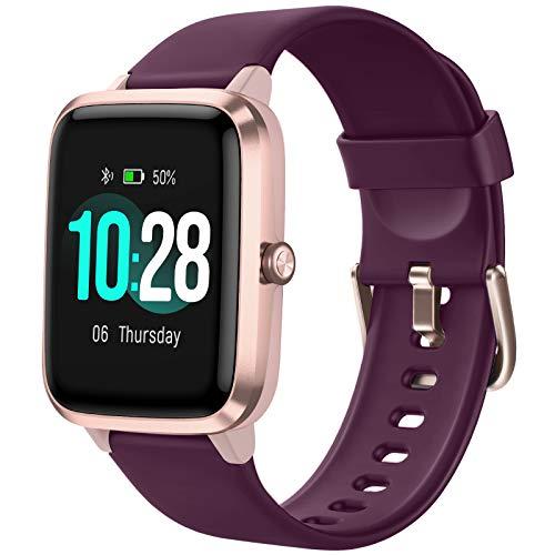 Letsfit Smartwatch, 1.3 Zoll Tou...