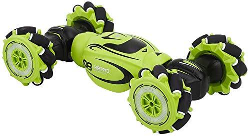 GJFDCP Control Remoto Stunt Car, Controlador de Doble Cara de Control Remoto de 2.4GHz, automóvil de Control Remoto Giratorio de 360 °, con música y Luces, traiga Felicidad a la Infancia Infantil.