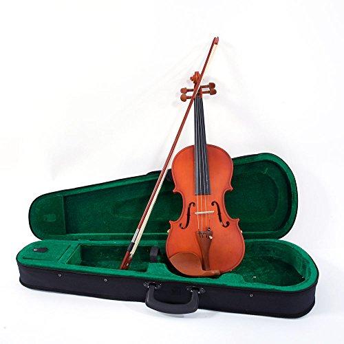 ONECK 4/4 Violine Set Akustische Geige Violine mit Koffer, Bogen und Kolophonium für Anfänger Matt