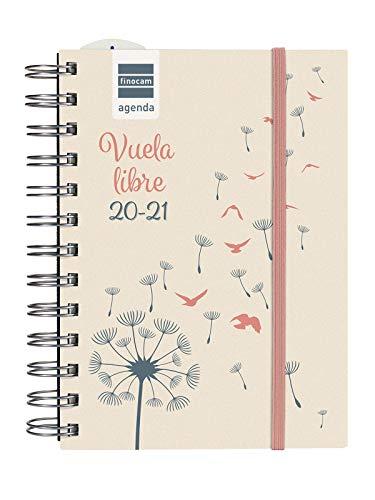 Finocam Kalender 2020-2021 Octavo-120 x 169 1 dag Mini Instituut Spaanse vleugels