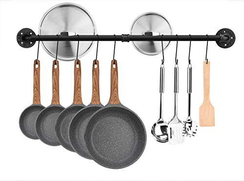 Toplife - Barra de cocina industrial de 60 cm para colgar en...