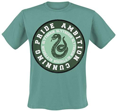 Harry Potter Slytherin - Ambition T-Shirt grün XXL