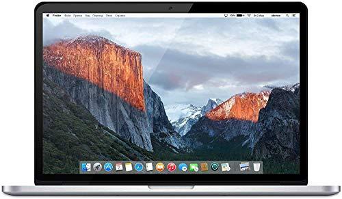 Apple MacBook Pro 15.4' (i7-4980hq 2.8ghz 16gb 1tb SSD) QWERTY U.S Keyboard MJLQ2LL/A Mid-2015 Silver (Renewed)