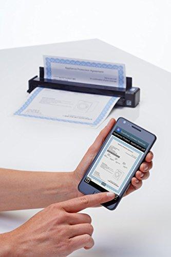 Fujitsu ScanSnap iX100 Ultra Portable Document Scanner - USB, Wi-Fi, Lithium Ion Battery Powered