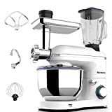 🍰850W POWER MOTOR - Nurxiovo electric mixer is ETL listed. Pure copper motor and sturdy ABS housing makes the process quickly and thoroughly. Built-in chip sensor temperature automatically shut down when overheating, safety and security.American stan...