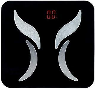 HJTLK Báscula de baño Digital, Báscula de Peso Smart Body Fat B1 Báscula Medición de Grasa Báscula de precisión para Adultos domésticos