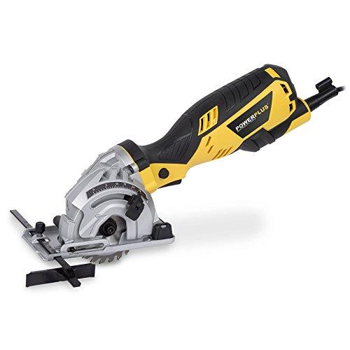 Powerplus POWX1425 POWX1425 Mini Sierra Corte Longitudinal 600 W, Durchmesser 89 mm