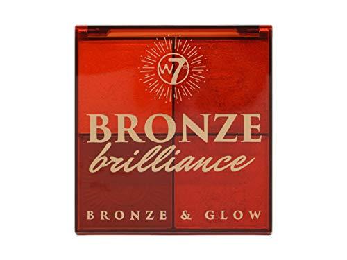 W7 Bronze Brilliance Bronze & Glow Bronzing Powder - Medium/Dark