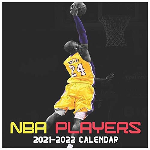 NBA Players 2021-2022 Calendar: Very Beautiful calendar gift for NBA's Lovers Calendar 16 Months