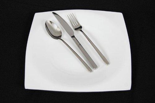 Messer Gabel Besteckset Bestecke Edelstahl 6 Personen 30 Teile hochglanzpoliert
