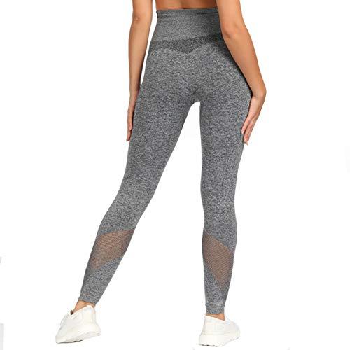NSYJK yogabroek, stretchy, sport, zonder naden, leggings voor dames, Energy yoga, broek, tricot, fitness, panty, gym, butt leggings