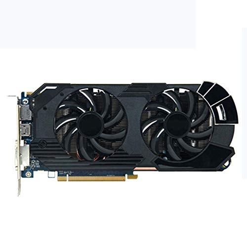 WSDSB Ajuste para Fit For Sapphire HD 6950 2GB Tarjetas De Gráficos GPU AMD Radeon HD6950 GDDR5 Tarjetas De Pantalla De Video PC Mapa De Juego HDMI PCI-E X16 Tarjeta gráfica Performance