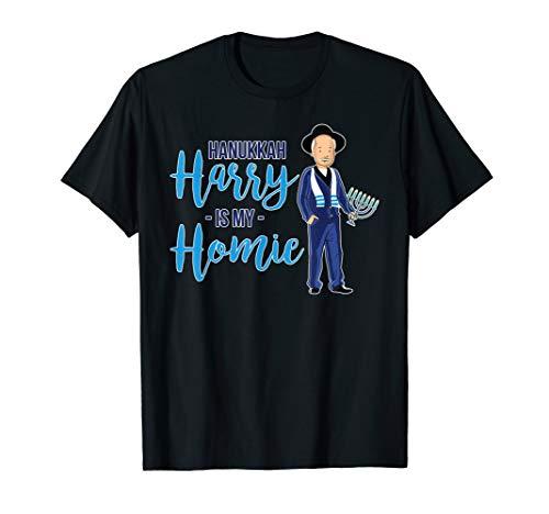 Hanukkah Harry Is My Homie T-Shirt Jewish Trendy