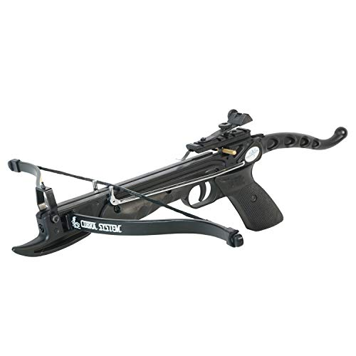 Southland Archery Supply 80 Pound Self-cocking Pistol Crossbow with Cobra System Limb and 3 Arrows