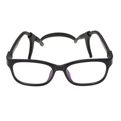 Juleya Juleya Kinder Gläser Rahmen - TR90 + Silikon - Kinder Brillen Clear Lens Retro Reading Eyewear für Mädchen Jungen
